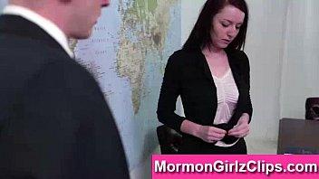 young mormon babes explore lesbian sex.