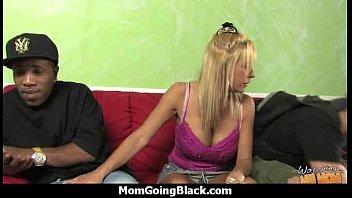 busty white mom fucking black stud.