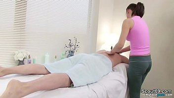 milf make special service at massage parlour and.