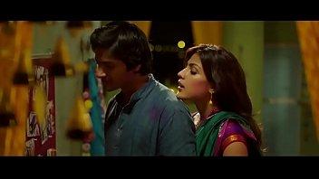 rhea chakraborty hot kissing scene   sonali cable