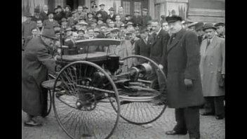 first petrol powered car -- benz.