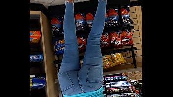 candid ass booty jeans butt