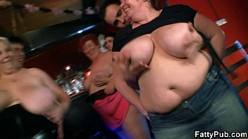 fat ladies have fun at the.