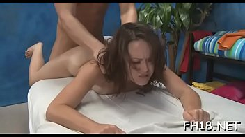 wench is nailed by throbbing wang after giving.
