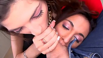 two young hot girl suck cock.