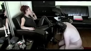 best mistress domination of slave. see pt2 at goddessheelsonline.co.uk