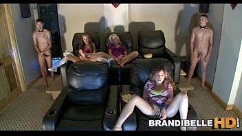 home movie theatre dildo play brandi.