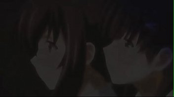 horny anime school girl having a hard sex.