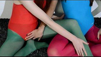 hairy lesbians in nylon stocking loving