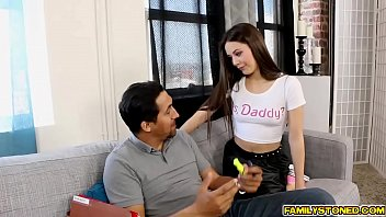 lucy doll rides step dad juan like a cowgirl