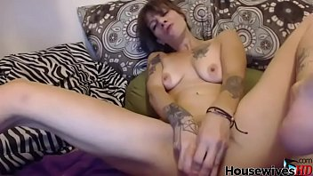 tattooed housewife with pierced tongue anal.