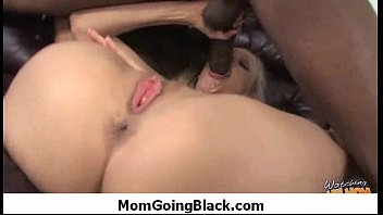 horny mom getting a black monster dick for.