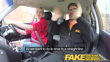 fake driving school students squirting shaven pussy gets.