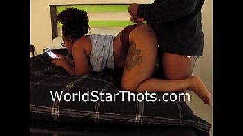 ebony thot getting dick... go check out the.