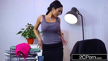 busty business woman patty michova has crush on.