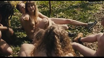 eleanor wyld - running naked in the woods.