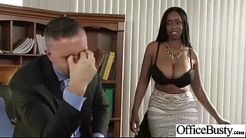 hardcore sex with naughty big boobs office girl.