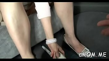 japanese milf spreads legs for cock in hot.
