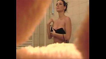 dad spies on daughter bathroom hidden camera- for.