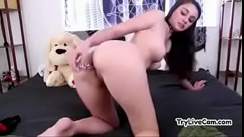 bitch satisfies herself on her private webcam at trylivecam.com