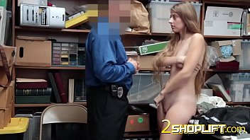 sweet girl screwed by security guard