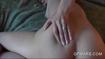 sweet ass blonde nailed from behind.
