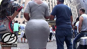 thick latina at the dominican parade