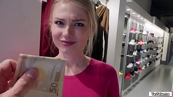 hot sales lady fucks stranger for.