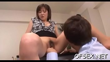horny colleagues have sexy office sex in front.