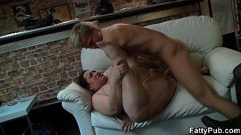 huge boobs bbw enjoys sucking and.