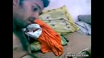 young indian couple kissing and fucking
