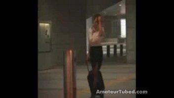 japanies air hostress girl fuck by strangers from sanjh