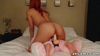 young fucked by a teddy bear