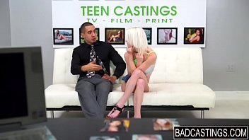 sporty teen gets groped during casting