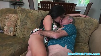 young beautiful amateur sucks old mans.