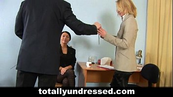 shocking nude job interview for elegant.