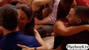 group of swingers swap couple and orgy in.