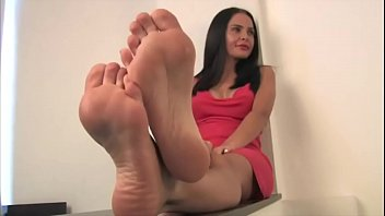 exotic milf martina sexy feet part.