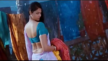 hottest south indian actress wet hips saree in.