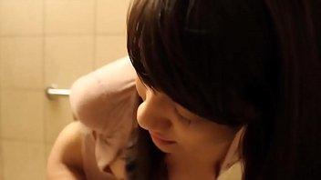 innocent asian masturbates in public toilet &amp_ squirts.