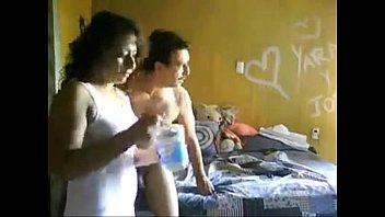 maestra mexicana cogiendo con su amante