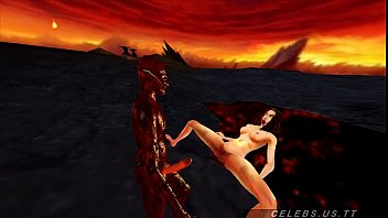 megan fucked by a daemon from.