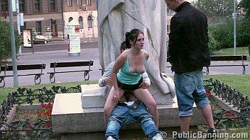 teens public street sex gang bang  by.
