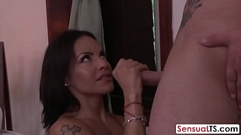 sensual ladyboy receives massage and gets asshole drilled.