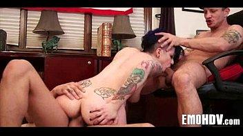 emo whore takes cock 371