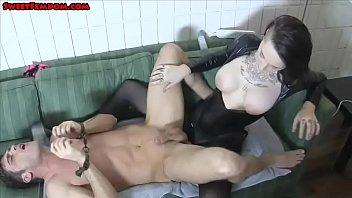 year old pegs a slave and loves it.