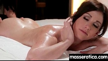 sensual oil massage turns to hot lesbian action 20