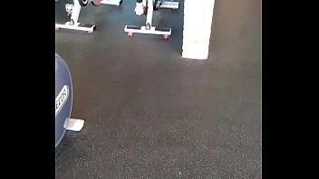 see thru tights at gym pt2
