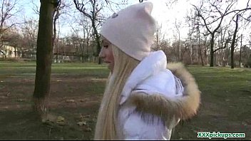 public blowjob from sexy czech babe for dollars 13