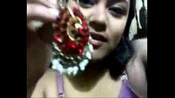bangladeshi girl is showing her asset(nipa)